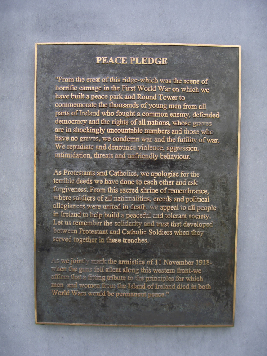 The Peace Pledge